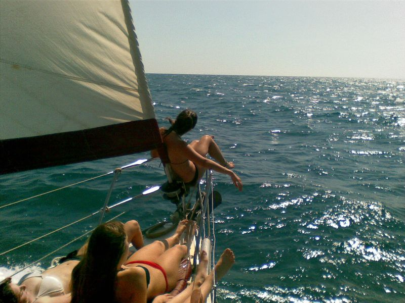 הפלגת מפרשים לקפריסין